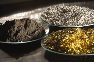 Matériaux produits par le recyclage des déchets